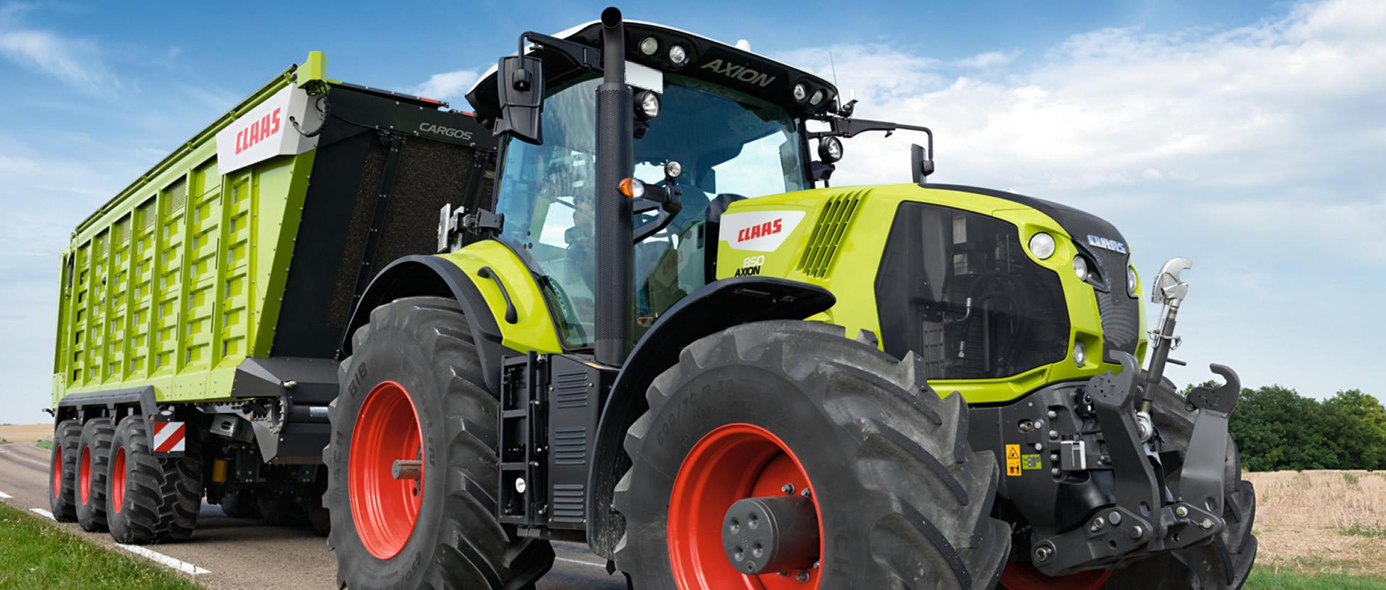 Onderhoud en nieuwe landbouwmachines